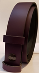 30mm Purple Snap Fit Leather Belt
